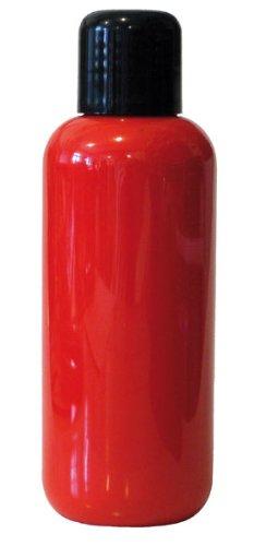 Eulenspiegel 655665 - Professional Liquid Aqua Schminke - 150 ml - Hellrot