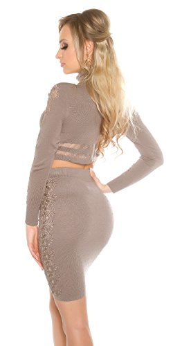 Sexy Carmen-top con look stlty Koucla by in-Fashion Style SKU 0000GP3 Bianco