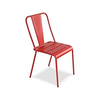 Oviala jardin Chaise métal designJardin de ygbf76