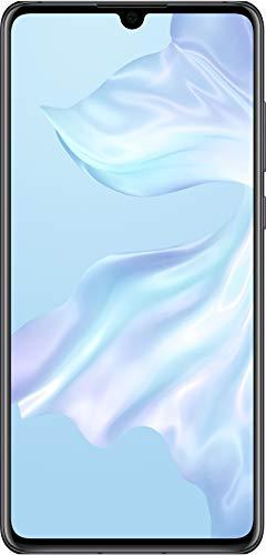 Huawei P30, 6 GB RAM + 128 GB, Stunning 6.1 Inch OLED Display, Android.TM 9.0 Pie, EMUI 9.1.0Sim-Free Smartphone, Dual SIM, Midnight Black,UK Version Best Price and Cheapest