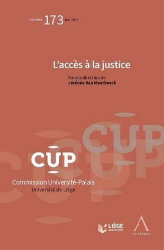 L'accès à la justice par Collectif