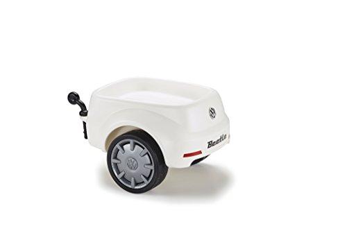 VW Rutscherauto Junior Beetle Anhänger weiß 5DA087502 Bobby Car Rutscher