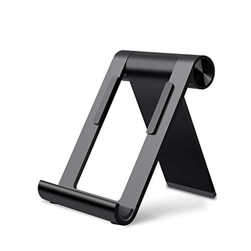SBKD Tablet-Halter for Desktop-Telefone aus Aluminiumlegierung Lazy Rack Tablet-Halter for eine breite Palette von Mobiltelefonen und Tablets unter 10 Zoll. Faltbar und leicht zu tragen - Tragen Sie Augen-palette
