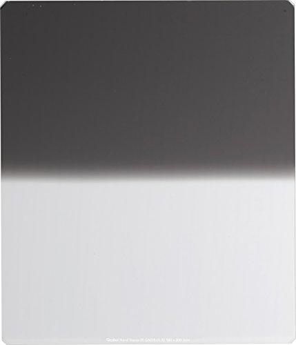 Rollei Profi Rechteckfilter - Grauverlaufsfilter mit hartem Verlauf aus Schott-Glas - Hard Nano IR GND 8 (0,9) 180 mm
