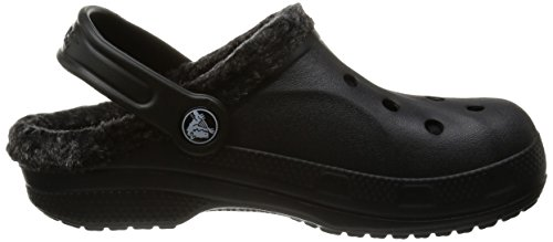 Crocs Baya Heathered Lined Clog Black/black