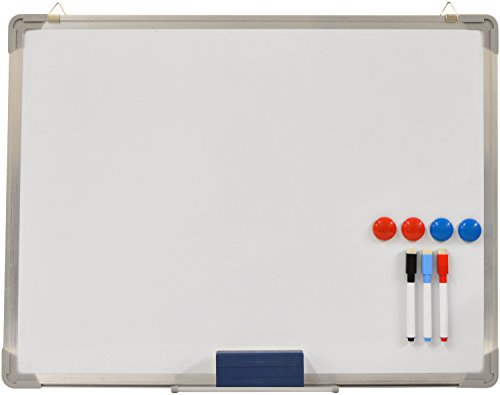 hausen-white-board-small-magnetic-drawing-whiteboard-dry-wipe-pen-60-x-45cm