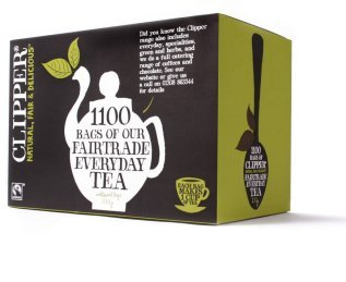 Clipper Fairtrade Everyday 1 Cup Teabags (1100)