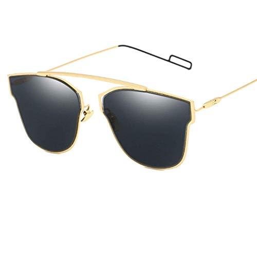 GUGU Aviator Damen Damen Sonnenbrille Verspiegeltes Katzenauge Reflektierend Retro UK