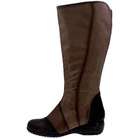 Piesanto Modelo 3962 - Botas confort de cuero para mujer