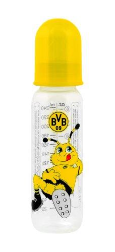 "primamma 44576100 - Babyflasche ""Borussia Dortmund"" 250ml Silikon Gr. 1"