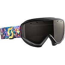 Scott lura Gafas de esquí, otoño/invierno, unisex, color Negro / Amarillo, tamaño talla única