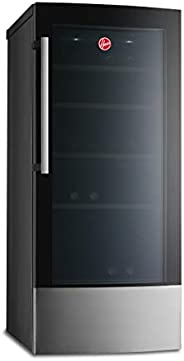 Hoover 58 Bottles Freestanding Beverage Wine Cooler, Black - HWC58B-X, 1 Year Warranty