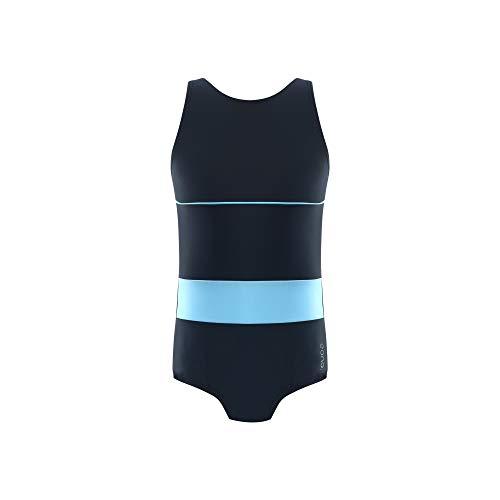 Eono Essentials Badeanzug mit U-Ausschnitt für 10-jährige Mädchen