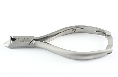 Blizzard - Coupe-ongles de podologue avec manche lisse - 14cm, acier inoxydable allemand, approuvé CE