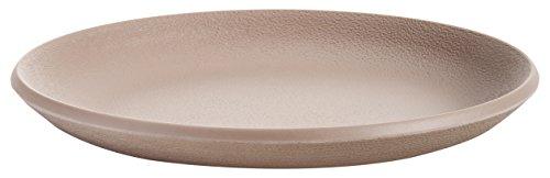 Kartell 01516TE Assiette Plate, Plastique, Terre Cuite, 27 x 27 x 2,8 cm