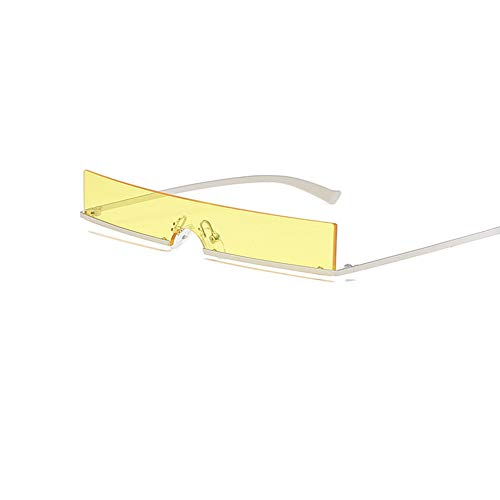 KTCLE Schwimmbrillen FüR Erwachsene Sonnenbrillen Sonnenbrillen, Mode Quadrat Kleine Box Mini MäNner Und Frauen EIN StüCk Retro EuropäIschen Amerikanischen Winddicht