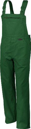 Qualitex Arbeits-Latzhose BW 270 - Größe: 52 - grün