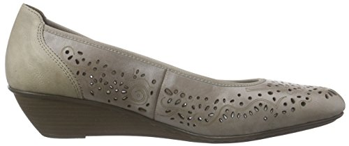 Rieker 43255 Women Closed-toe Damen Pumps Grau (elefant / 42)