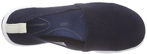 Rockport - Xcs Rock On Air Plain Slipon, Mocassini Donna Blu (Blau (DEEP OCEAN GORE))