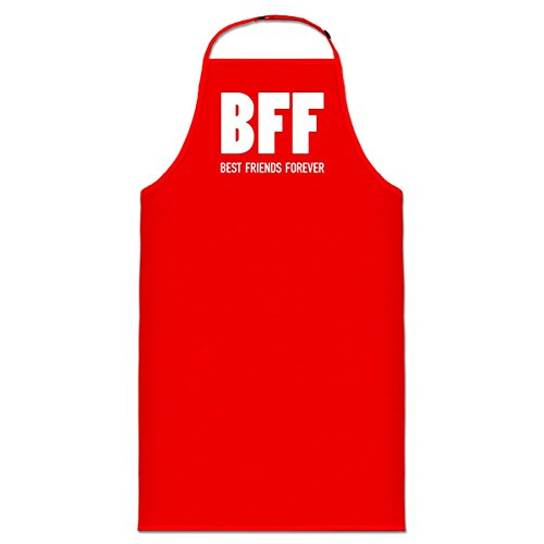 Delantal de cocina BFF Best Friends Forever by Shirtcity