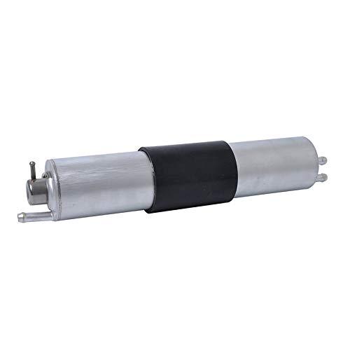8Eninine Mini-Kraftstofffilter-Druckregler für die Serie BMW E36/E46/E60/E90 Silber -
