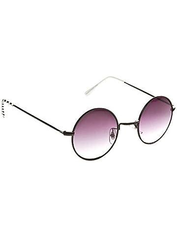 Vans Damen Sonnenbrille Round And Round, onyx, VPGG158