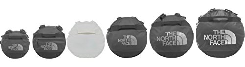 The North Face T0cww2, Base Camp Borsone, Medium Unisex, TNF Rosso Sticker, Taglia Unica Bianco Vintage