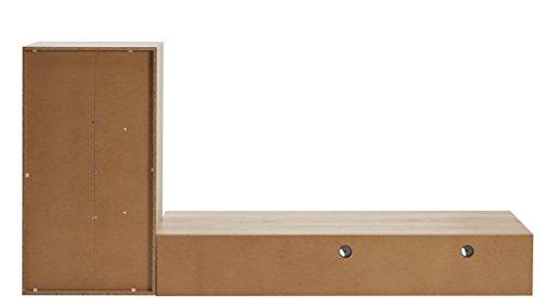 Bega 89-475-66 Motek 3 Wohnwand Eiche Sonoma Dekor, Maße B/H/T 230 x 185 x 40 cm - 3