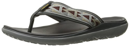 Teva Terra-Float, Flip-Flop Uomo, Grigio (Mosaic Grey/Chocolate-Mgchmosaic Grey/Chocolate-Mgch), 48.5