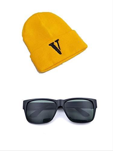 Kostüm Pet Minion - thematys Minion Kostüm Set Mütze und Brille - perfekt für Karneval - Einheitsgröße