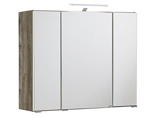 3D Spiegelschrank Badschrank Badmöbel Spiegel Badezimmer Schrank Bad