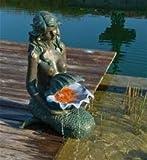 Gartenbrunnen / Wasserspiel ubbink AcquaArte Oslo Bronzeoptik
