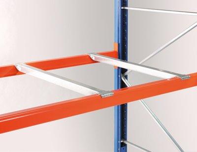 Tiefensteg für Palettenregal, für Regaltiefe 1100 mm
