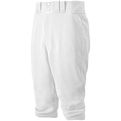 Mizuno Youth Select Hose kurz, Jungen Mädchen, 350312.0000.04.S, weiß, Größe S -
