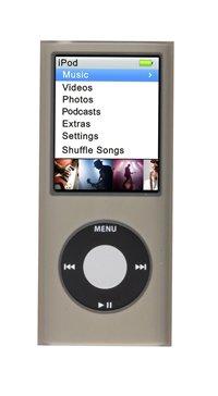 Logic3 IP 060 Silicon Hülle für Apple iPod nano 4G graphit 4g Ipod Nano