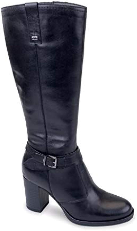 VALLEverde Donna Stivale Nero 46451 Scarpe in in in Pelle Autunno Inverno 2019 | Materiali Di Altissima Qualità  f1a720