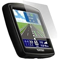High Grade - Anti-Scratch - Screen Protector for TomTom XXL IQ Routes Car Navigation Unit - Microfibre Cleaning Cloth included