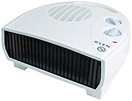 Glen GF30TSN Electric Flat Fan Heater, 3 Kilowatt