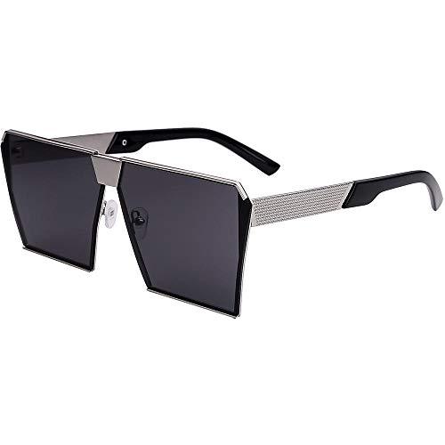 2018 Neue Sonnenbrille Männer Sonnenbrille Flut Stern Modelle polarisierte Linsen weibliche koreanische Persönlichkeit rundes Gesicht großen Kasten quadratische Brille