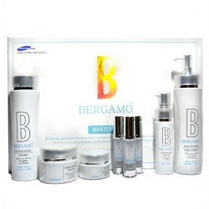 Korean Cosmetics_Bergamo Snow White Perfect Care 8pc Gift Set