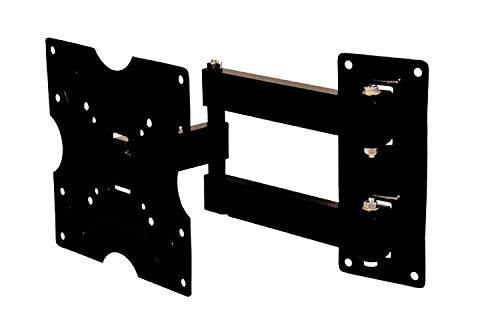 RISSACHI AMPEREUS Premium Wall Mount Stand for 17-32-inch LCD LED TV (Black)