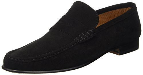 STEMAR Herren Sorrento Pumps Nero (Black Sd)