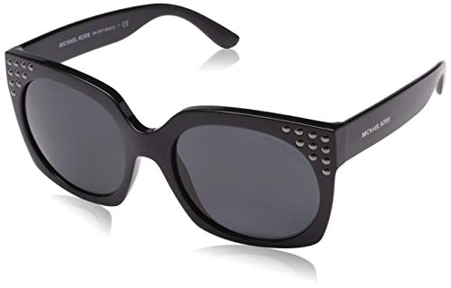 Michael Kors Damen DESTIN 300987 56 Sonnenbrille, Black/Greysolid,