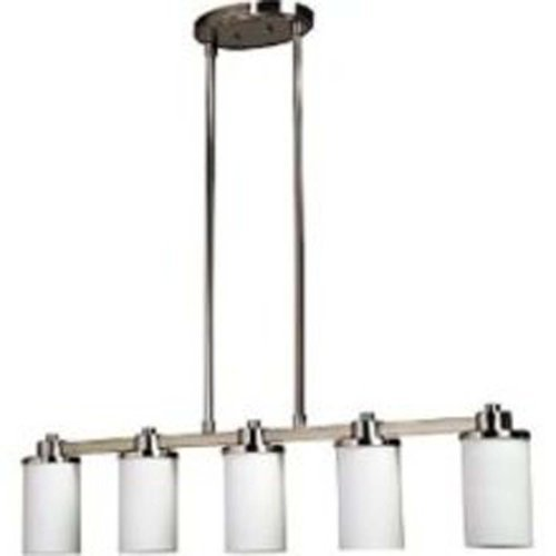 Artcraft Lighting Parkdale 5-Light Island Light, Polished Nickel by Artcraft Lighting - Nickel Light Island