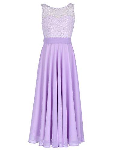 GRACE KARIN Aermellos Maedchen Partykleid Abendkleid 11-12 Jahre CL8988-2