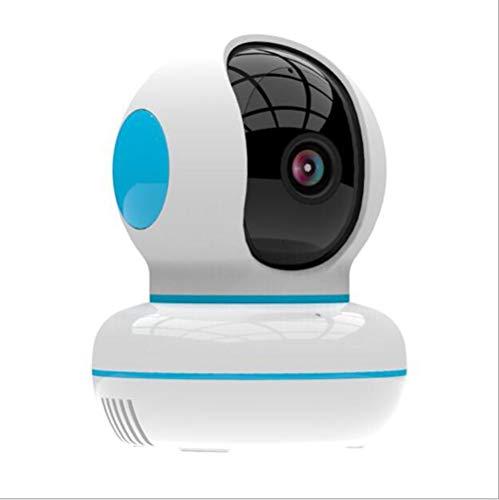ZHY Smart Home Wireless-Kamera, Zwei-Wege-Audio-Bewegungserkennung Indoor Pet Kamera HD 1080P Wireless WiFi Security Monitor Fernüberwachung Automatischer Alarm