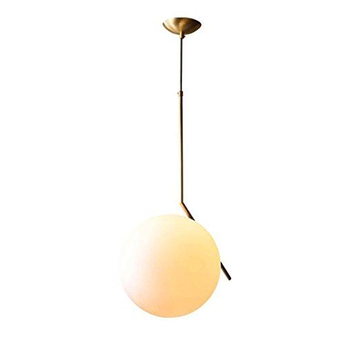 lustre GAODUZI Cuivre Salon Moderne Creative Personnalité Restaurant Lumières Étude Chambre Chevet Lampes Simple Lampes Plein Cuivre Lampe E27 (Taille : 42 * 67cm)