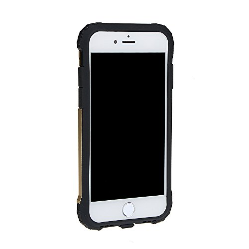 """xhorizon Double Couche Plastique Dur PC TPU DOUX Mélangé Antichoc Couverture de Protection Lourde pour iPhone 7 Plus[5.5""""] avec 9H film de protection en verre trempé #2"""