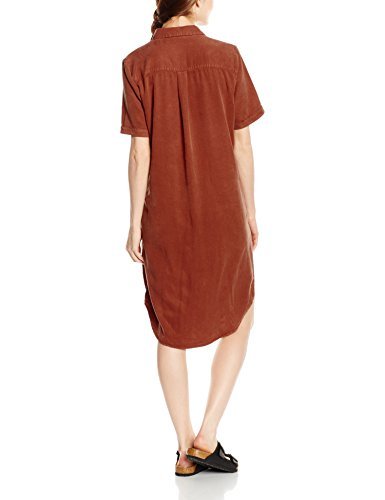 SELECTED FEMME Damen Bluse Sfvilo SS Shirt Brown (Rustic Brown)