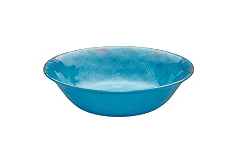 Kitchen Craft Coolmovers Sail Away Melamine Bowl, 19 cm - Teal